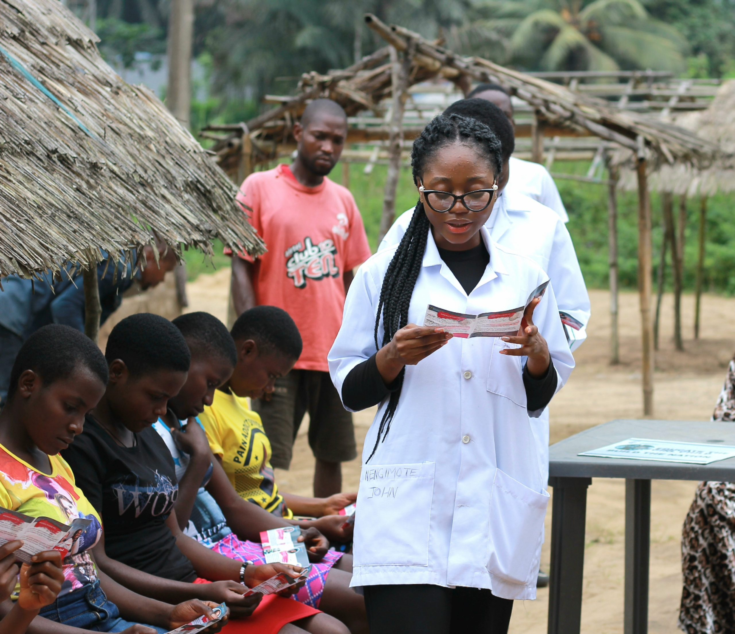 Sensitization on Menstrual Hygiene
